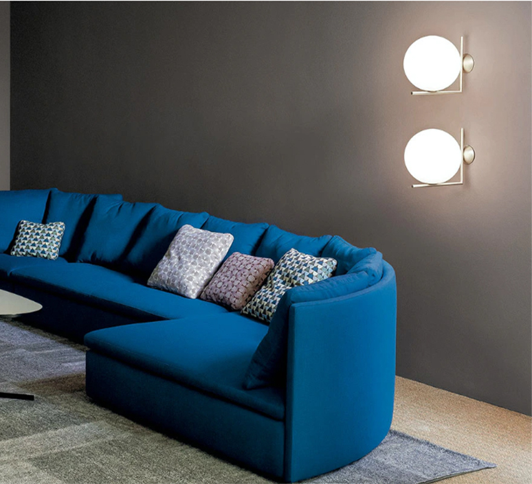 Ic c w2 michael anastassiades applique murale wall light  flos f3179059   design signed 97610 product