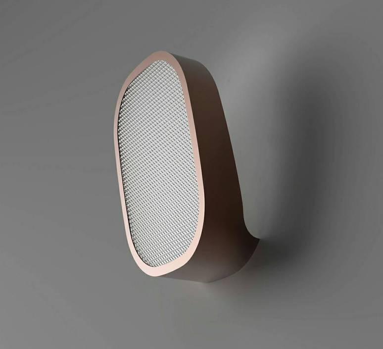 Ideo avec grille filippo mambretti applique murale wall light  zava ideo walllamp metalizedbronze withgrid  design signed 36502 product