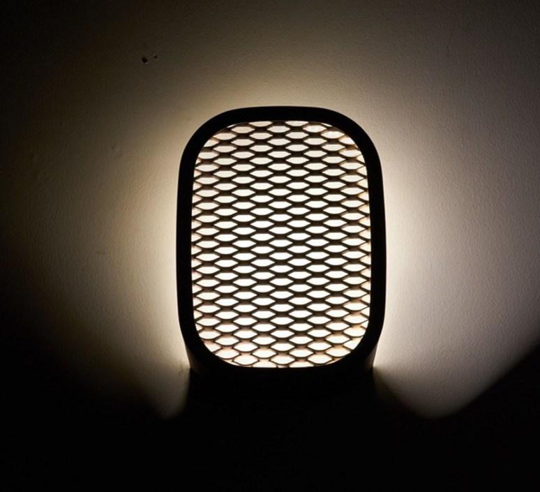 Ideo avec grille filippo mambretti applique murale wall light  zava ideo walllamp metalizedbronze withgrid  design signed 36503 product