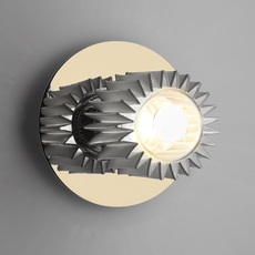 In the sun 190  applique murale wall light  dcw editions gol sil 190  design signed nedgis 65338 thumb