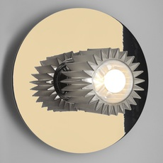 In the sun 270  applique murale wall light  dcw editions sil gol 270  design signed nedgis 65349 thumb