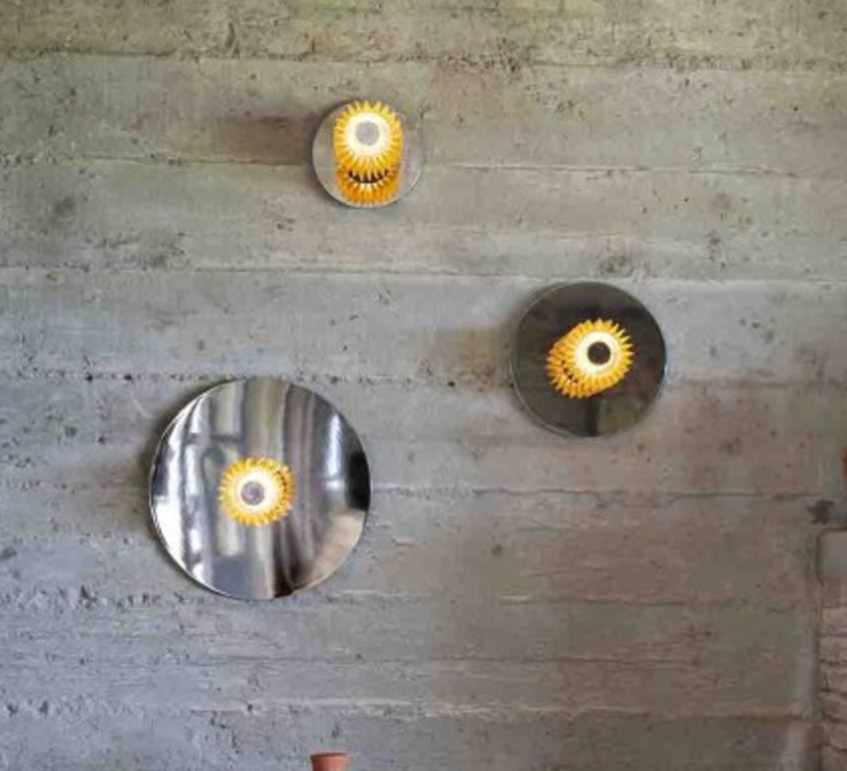 In the sun 380  applique murale wall light  dcw editions sil gol 380  design signed nedgis 65357 product