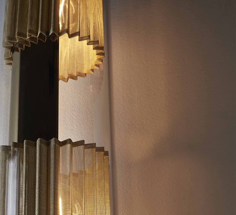 In the tube 120 700 dominique perrault applique murale wall light  dcw itt 120 700 gold gold  design signed nedgis 115273 product