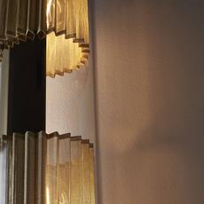 In the tube 120 700 dominique perrault applique murale wall light  dcw itt 120 700 gold gold  design signed nedgis 115273 thumb