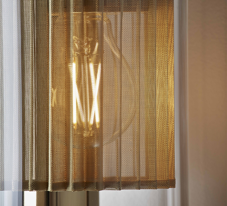 In the tube 120 700 dominique perrault applique murale wall light  dcw itt 120 700 gold gold  design signed nedgis 115281 product