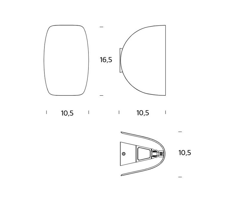 Io   fontanaarte 4299bl luminaire lighting design signed 20117 product