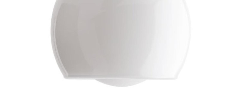 Applique murale j adore l or glass 020 laiton verre opalin ip43 l10cm h29cm zangra normal