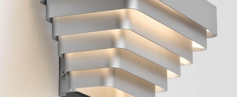 Applique murale j j w aluminium l35cm wever ducre normal