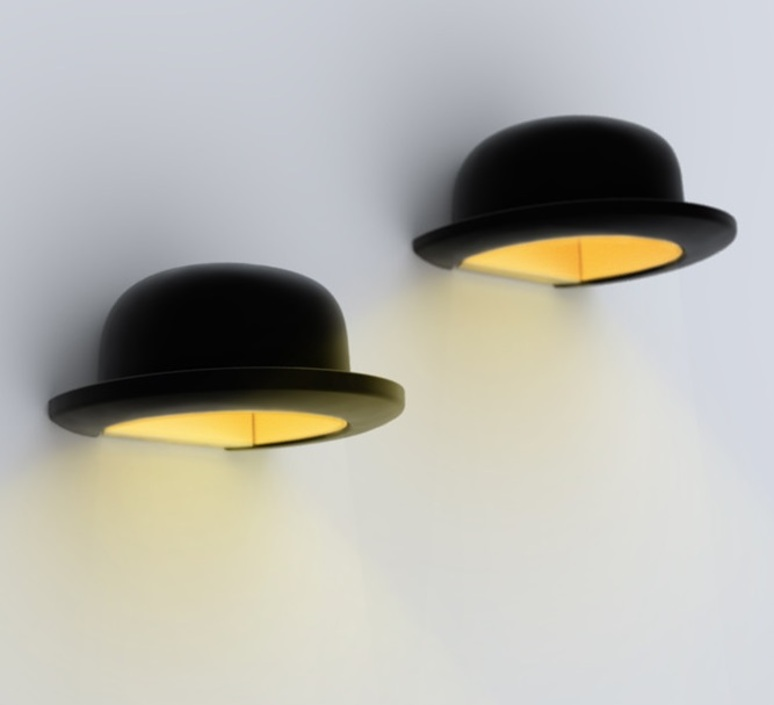 Wall light hat Jeeves black ˜25cm Innermost Nedgis Lighting