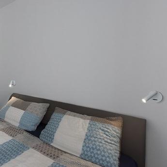 Applique murale karpo blanc led l9cm h12 5cm slv 152341 normal