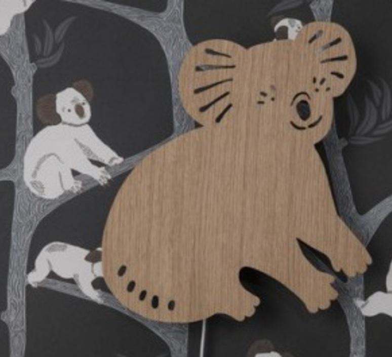 Koala lamp trine andersen applique murale wall light  ferm living 100049 316  design signed nedgis 64162 product