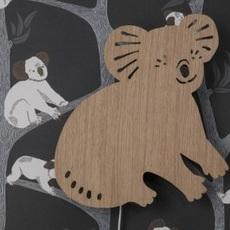 Koala lamp trine andersen applique murale wall light  ferm living 100049 316  design signed nedgis 64162 thumb