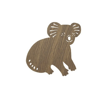 Applique murale koala lamp chene l30 41cm h34cm ferm living normal