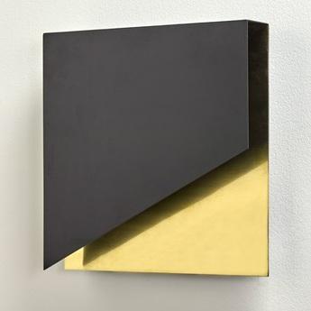 Applique murale kvg 05 01 noir laiton l30cm h30cm serax normal