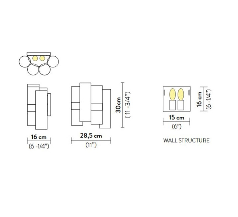 La lollo  lorenza bozzoli applique murale wall light  slamp lal87app0000of000  design signed nedgis 66300 product
