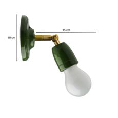 Lampe articulable porcelaine  applique murale wall light  zangra light 036 011 gr  design signed 38406 thumb