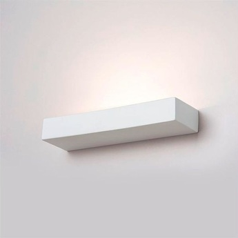 Applique murale lampe en ceramique blanc l35cm h5cm zangra 3c04dc95 ec3c 451b 8658 dd04380301aa normal