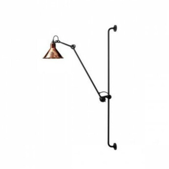 Applique murale lampe gras 214 cuivre raw h118cm dcw editions normal