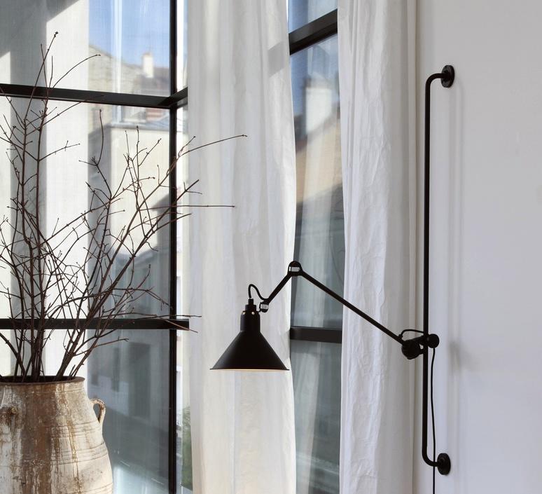 Lampe gras 214 bernard albin gras dcw editions 214bl sat luminaire lighting design signed 29447 product
