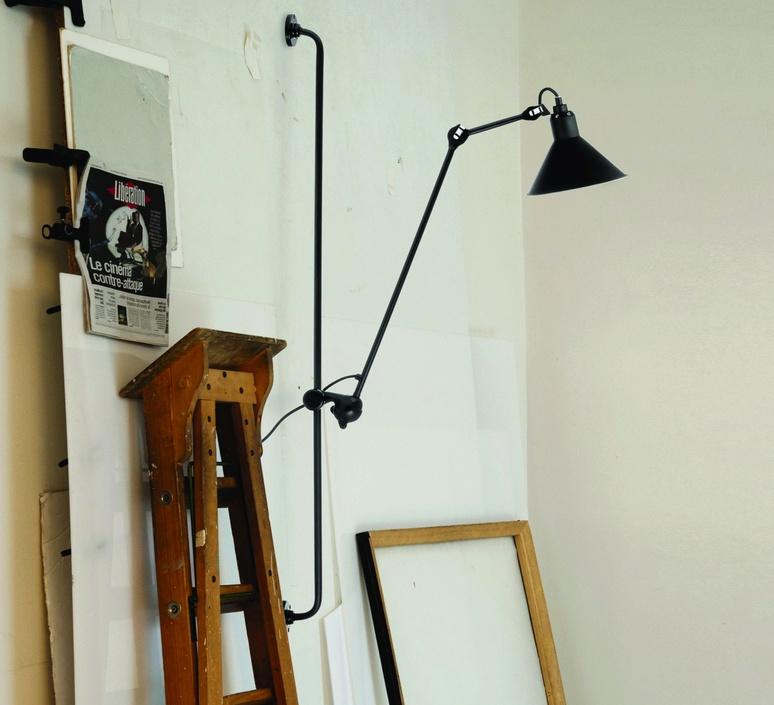 Lampe gras 214 bernard albin gras dcw editions 214bl sat luminaire lighting design signed 29448 product