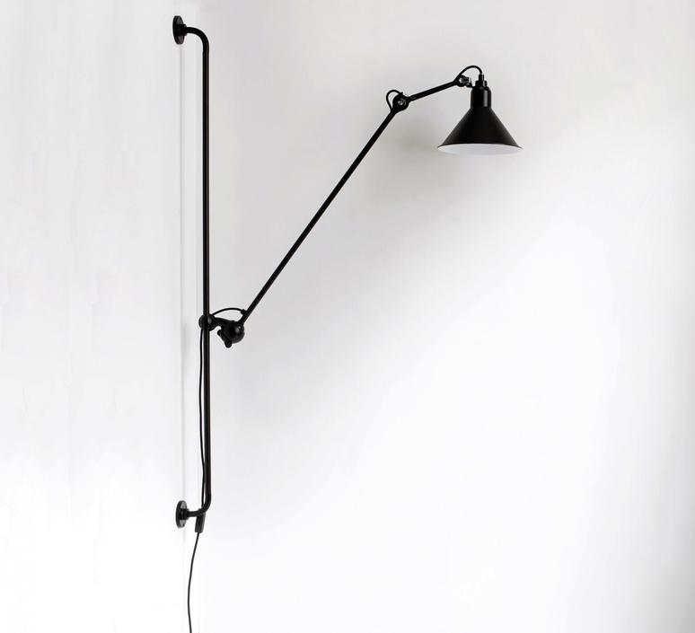Lampe gras 214 bernard albin gras dcw editions 214bl sat luminaire lighting design signed 29451 product