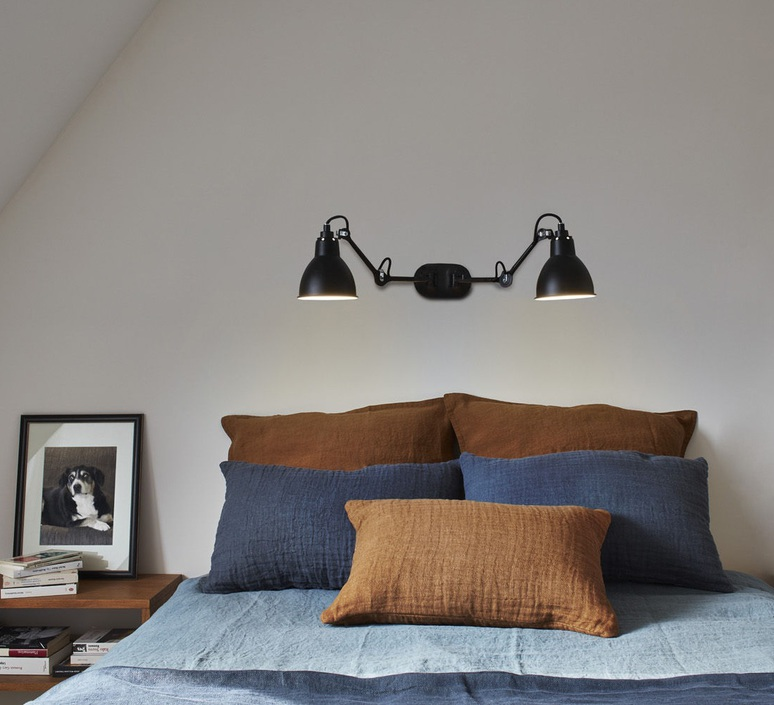 Lampe gras n 204 double bernard albin gras applique murale wall light  dcw editions  n 204 double bl bl  design signed nedgis 64852 product