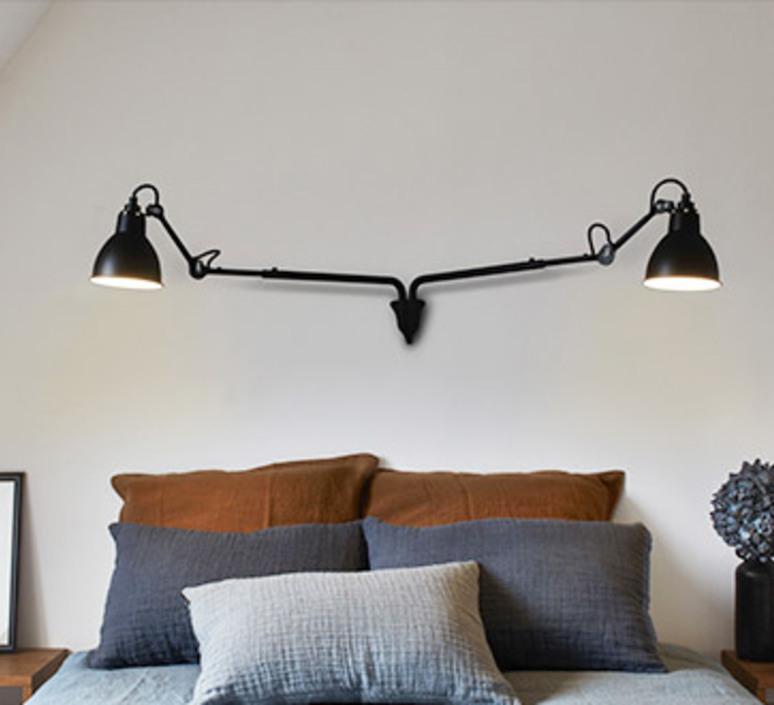 Lampe gras n 204 double bernard albin gras applique murale wall light  dcw editions  n 204 double bl bl  design signed nedgis 74624 product