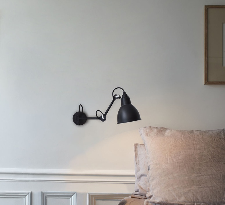 Lampe gras n 204 bernard albin gras applique murale wall light  dcw editions  n 204 bl bl  design signed nedgis 64699 product