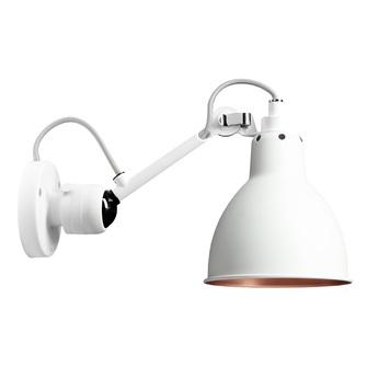 Applique murale lampe gras n 304 blanc cuivre l14cm h14cm dcw editions normal