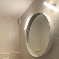 Lampe tubulaire opale  applique murale wall light  zangra light 073 02 030 wm  design signed 112072 thumb