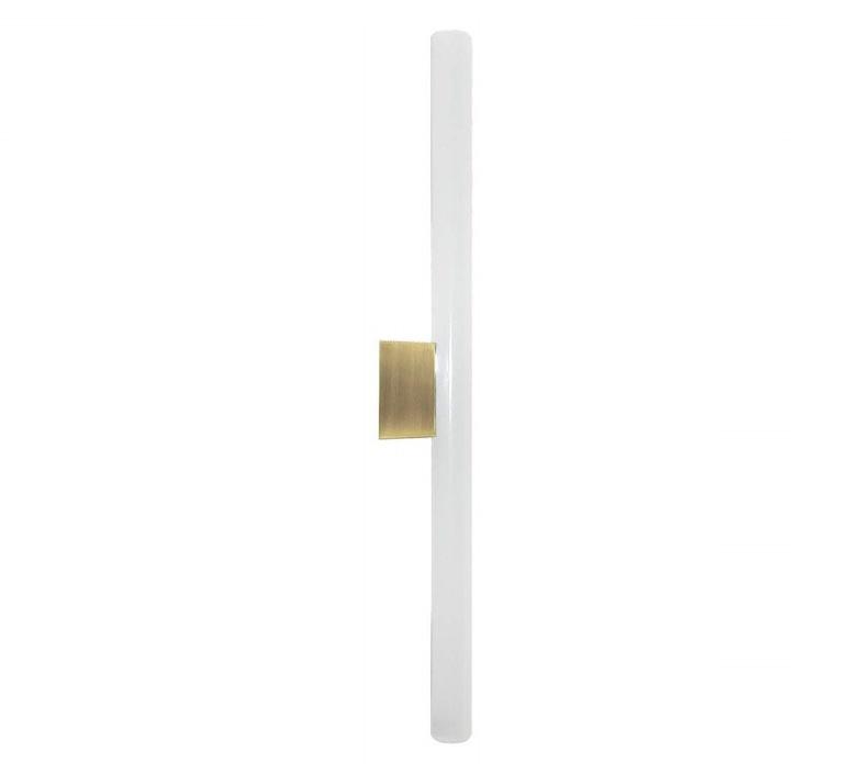 Lampe tubulaire opale  applique murale wall light  zangra light 073 02 050 gs  design signed 53720 product