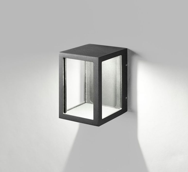 Wall light lantern w1 black led 112cm h14cm light point lantern w1 ronni gol applique murale wall light light point 257513 design signed 41416 product aloadofball Choice Image