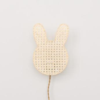 Applique murale lapin naturel l20cm h27cm an so normal