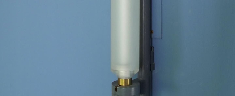 Applique murale laroche gris clair mat led 2700k 1650lm o4 5cm h37cm nemo lighting normal