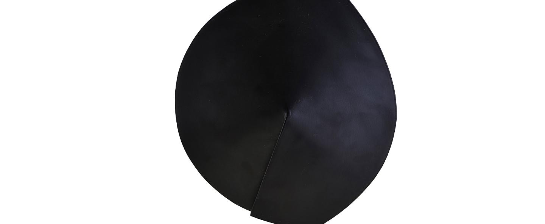 Applique murale leaf noir o23 8cm h32cm house doctor normal
