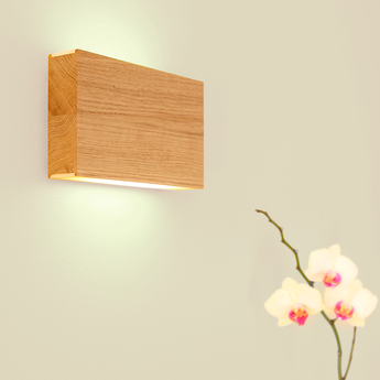 Applique murale led120 up down chene led 2700k 2x150lm l20cm h12cm tunto normal