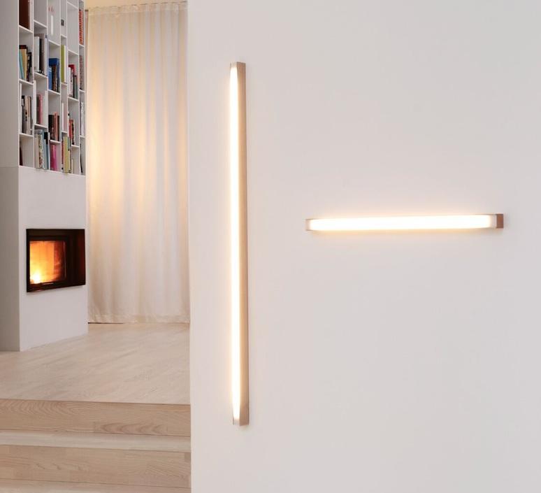 Led40 mikko karkkainen tunto led40 fix 40 walnut luminaire lighting design signed 70300 product