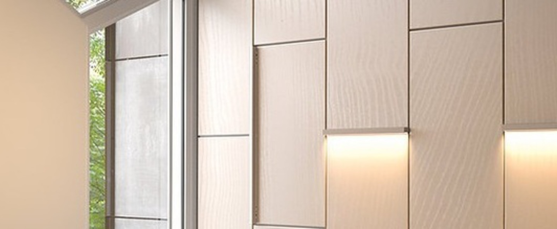 Applique murale led40 chene l70cm h4cm 800lm 4000k dimmable tunto normal