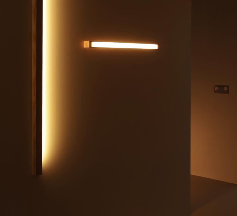 Led40 mikko karkkainen tunto led40 fix 100 walnut luminaire lighting design signed 12274 product