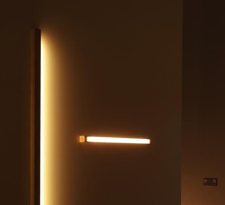 Led40 mikko karkkainen tunto led40 fix 100 walnut luminaire lighting design signed 12275 product