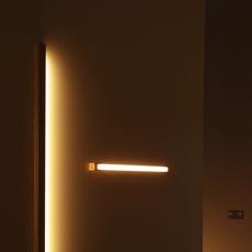 Led40 mikko karkkainen tunto led40 fix 100 walnut luminaire lighting design signed 12275 thumb