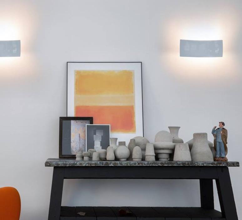 Lens francesco rata oluce 151 blanc luminaire lighting design signed 22426 product
