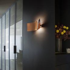 Lens francesco rata oluce 151 cuivre luminaire lighting design signed 22434 thumb