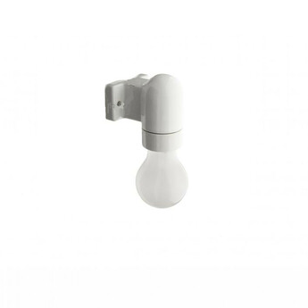 Applique murale light 016 porcelaine blanche l6 5cm h8cm zangra normal