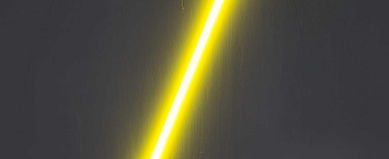 Applique murale linea jaune l140cm cm seletti normal