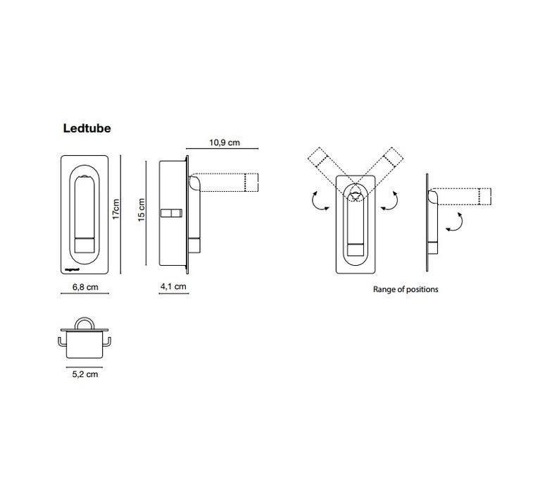 Ledtube daniel lopez marset a622 058 luminaire lighting design signed 59411 product