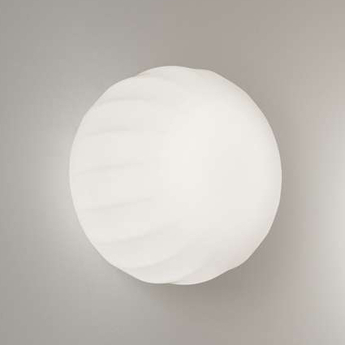 Applique murale lita blanc o14cm h12cm luceplan normal