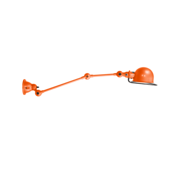 Applique murale loft orange l60cm h25cm jielde normal