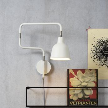 Applique murale london blanc o16cm h40cm it s about romi normal