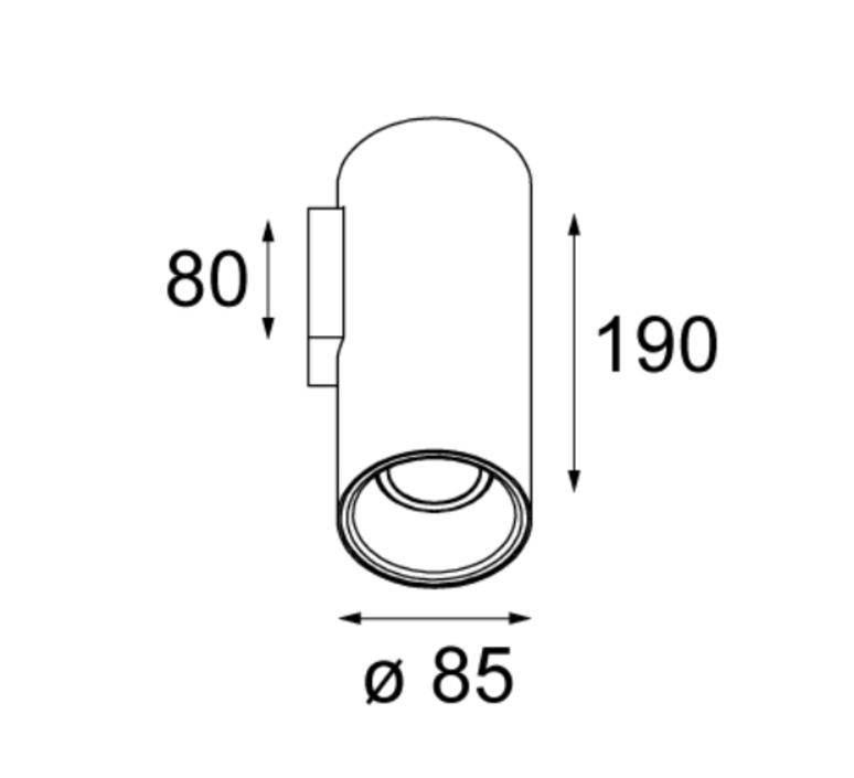 Lotis tubed modular studio spot spot light  modular 10883889  design signed 34497 product